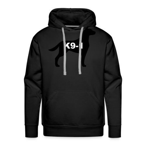 k9-1 Logo Large - Men's Premium Hoodie