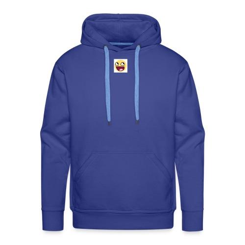 LOGIC Bitz Smily - Men's Premium Hoodie