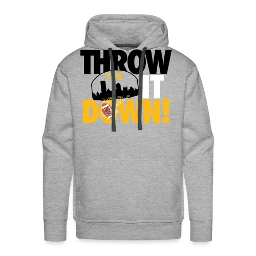 Throw it Down! (Turnover Dunk) - Men's Premium Hoodie