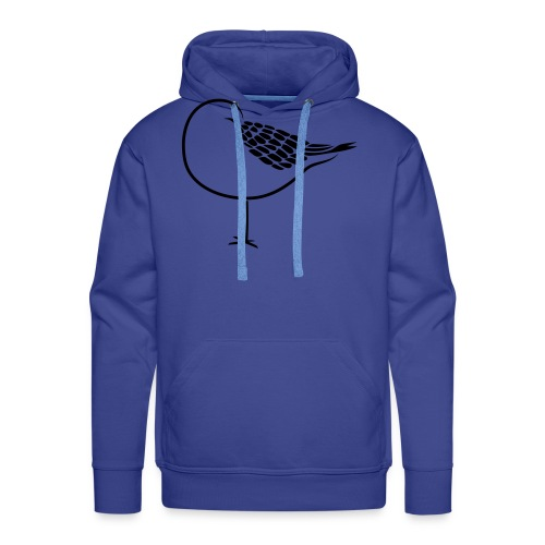 sleeping bird early dove wings seagull feather - Men's Premium Hoodie