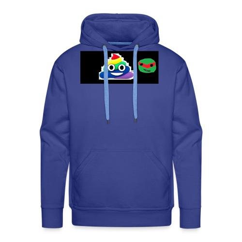 ninja poop - Men's Premium Hoodie