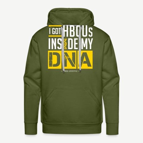 I Got HBCUs Inside My DNA - Men's Premium Hoodie