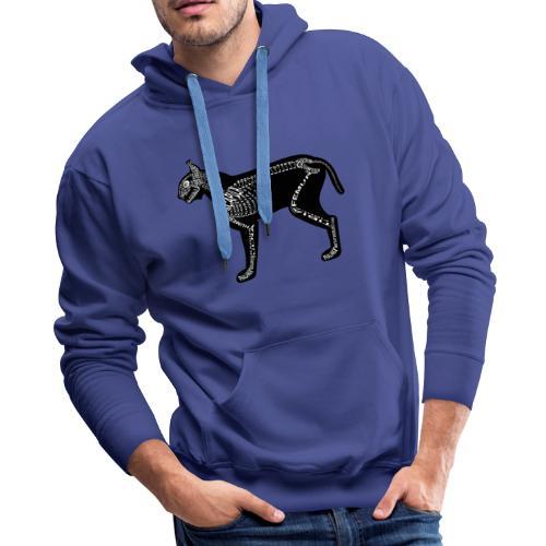 Skeleton Lynx - Men's Premium Hoodie