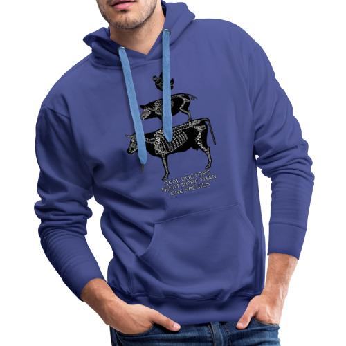 Real Doctors ... Large - Men's Premium Hoodie