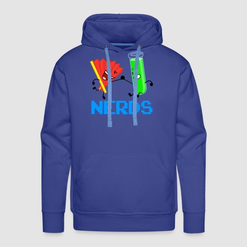 Fan Test Tube NERDS - Men's Premium Hoodie