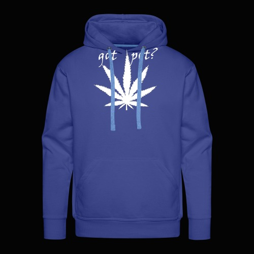 got pot? - Men's Premium Hoodie