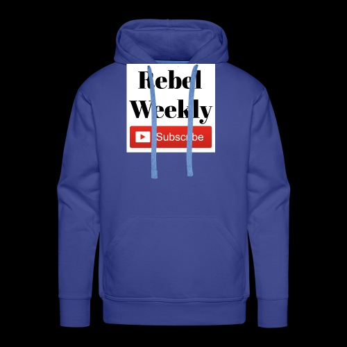 Rebel Weekly - Men's Premium Hoodie