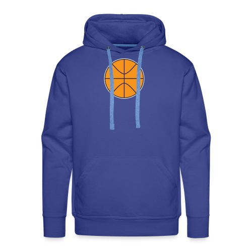 Plain basketball - Men's Premium Hoodie