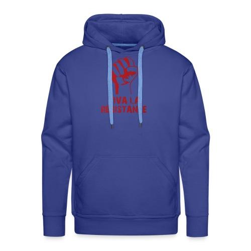 Vive La Resistance Logo - Men's Premium Hoodie