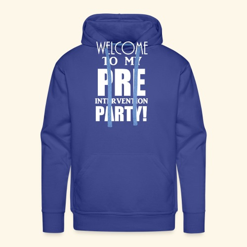 pre intervention party - Men's Premium Hoodie