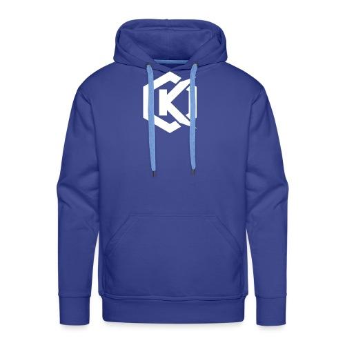Logo de Kunsel sur Twitch et Ylutube - Men's Premium Hoodie