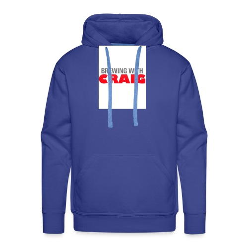 Brewing With Craig - Men's Premium Hoodie