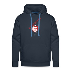 Dynamic 001 grapplersfight LOGO Front - Men's Premium Hoodie
