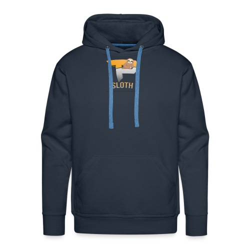 Stay Slothinq - Men's Premium Hoodie