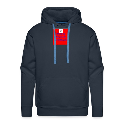 RobRoyale's First Shirt - Men's Premium Hoodie
