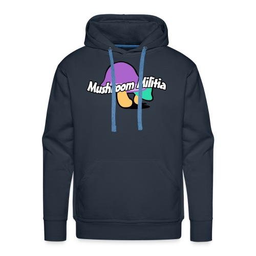 MM text logo - Men's Premium Hoodie