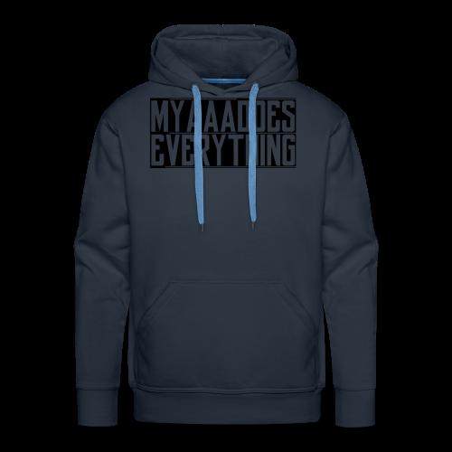 MyaaaDoesEverything (Black) - Men's Premium Hoodie