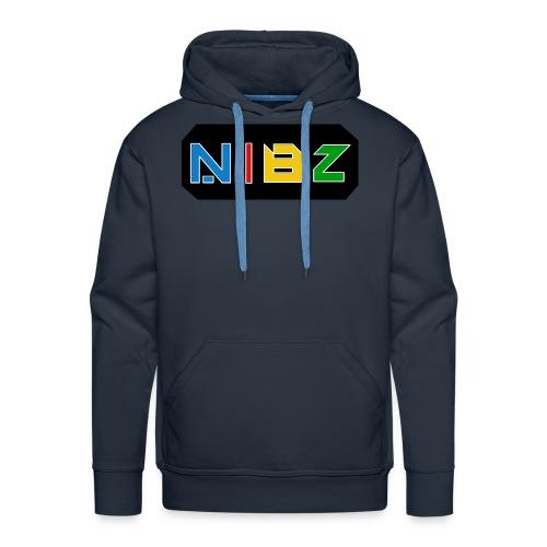 NibZcolorfuldesignlogo - Men's Premium Hoodie