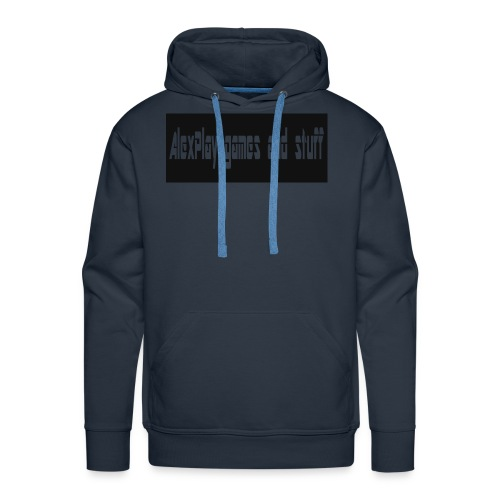 AlexPlaysgames and stuff design - Men's Premium Hoodie
