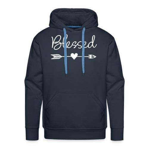 Feel Blessed - Men's Premium Hoodie
