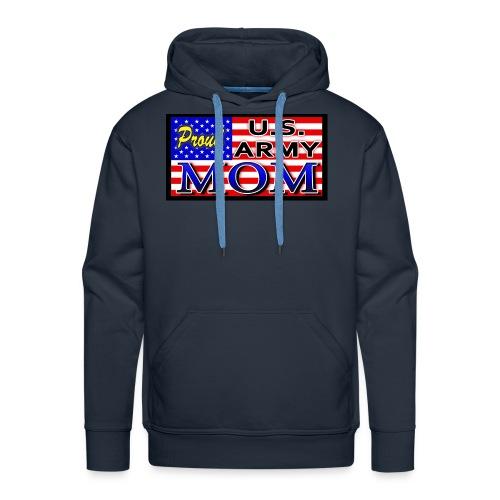 Proud Army mom - Men's Premium Hoodie