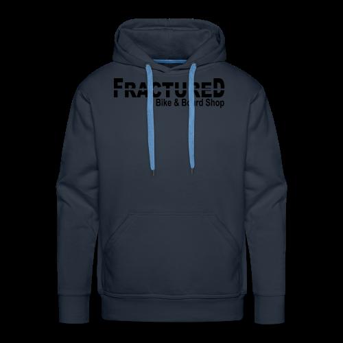Fractured Logo - Men's Premium Hoodie