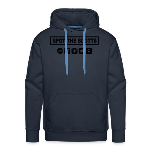 STS Social Media - Blue - Men's Premium Hoodie