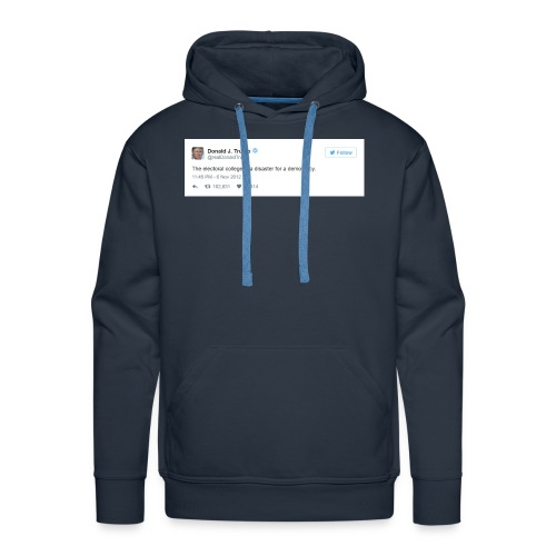 Occasionally, He Tells the Truth - Men's Premium Hoodie