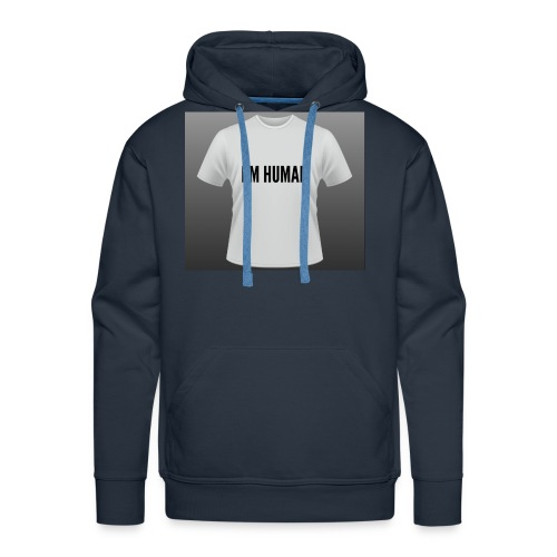 i m human - Men's Premium Hoodie