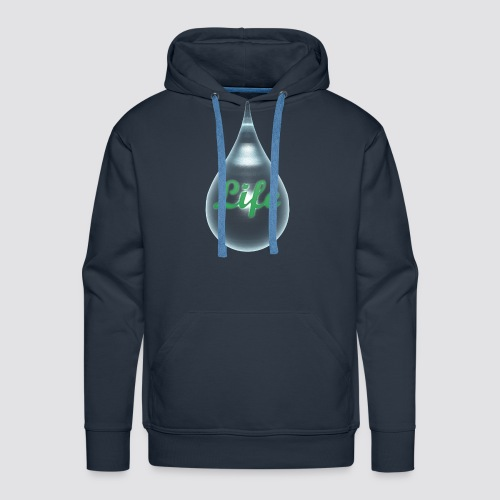 The drops of life - Men's Premium Hoodie