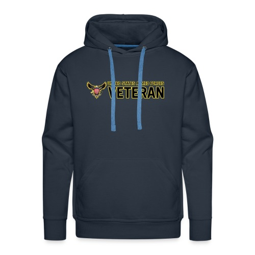 United States Armed Forces Veteran - Men's Premium Hoodie