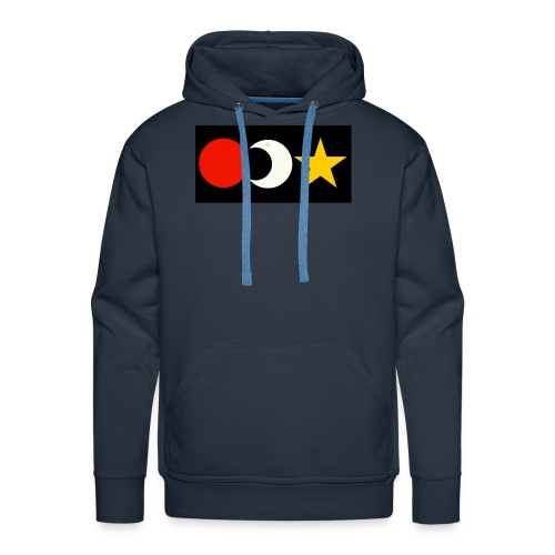 The Sun, Moon And Star. - Men's Premium Hoodie