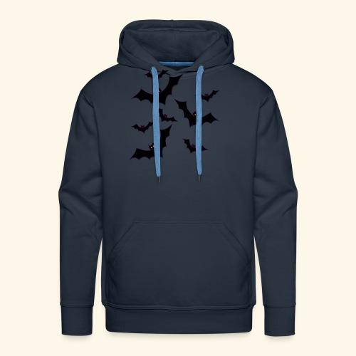 Halloween bats - Men's Premium Hoodie