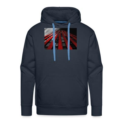 red, black & white - Men's Premium Hoodie