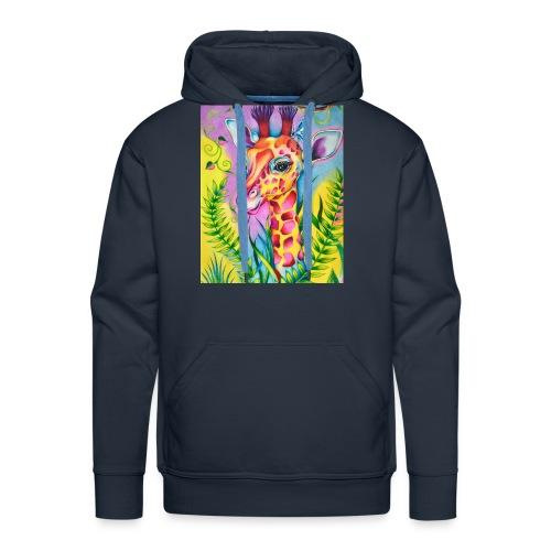 Spring Giraffe Hoodie - Men's Premium Hoodie