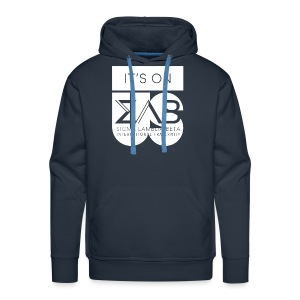Its On Betas White - Men's Premium Hoodie