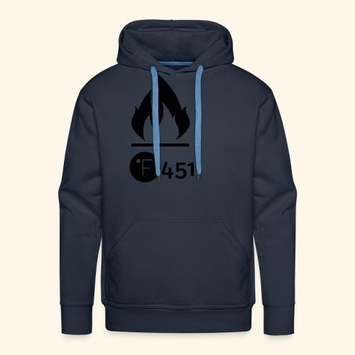 Farenheit 451 - Men's Premium Hoodie