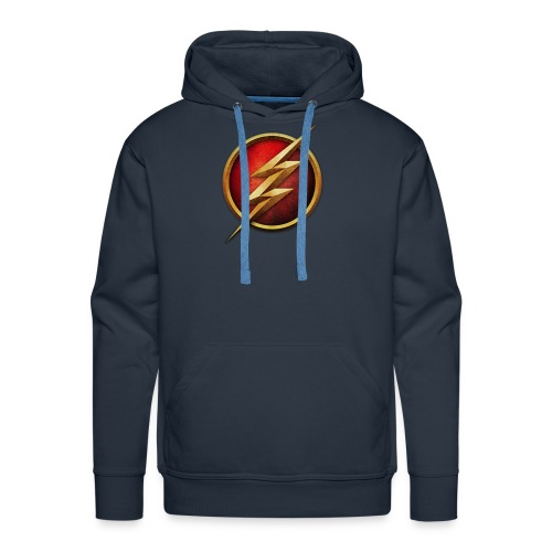 the_flash_logo_by_tremretr-d8uy5gu - Men's Premium Hoodie
