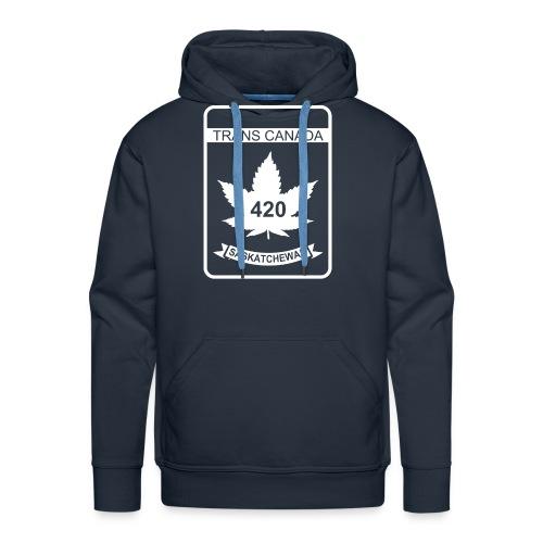 TRANS CANADA 420 SASKATCHEWAN - Men's Premium Hoodie