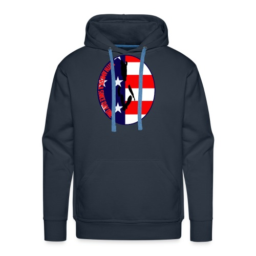 With America Since Day One - Men's Premium Hoodie