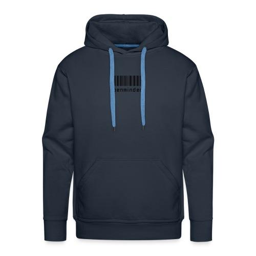 open minded logo - Men's Premium Hoodie
