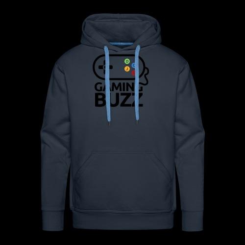Gaming Buzz Logo - Black - Men's Premium Hoodie