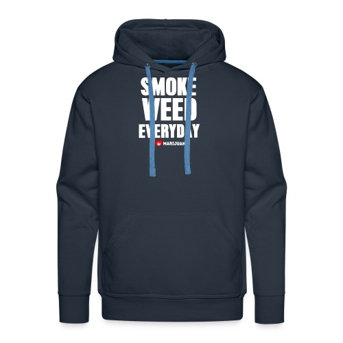 Smoke Weed Everyday - Men's Premium Hoodie