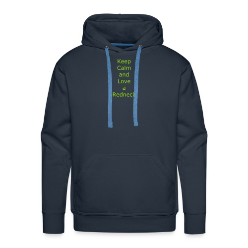 Keep_Calm_and_Love_a_Redneck - Men's Premium Hoodie