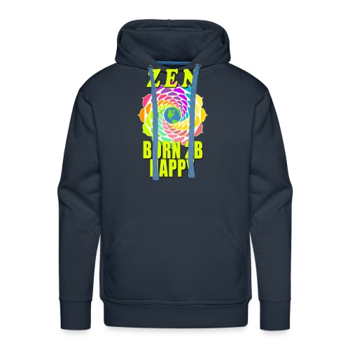 ZEN - Born To Be Happy - Men's Premium Hoodie