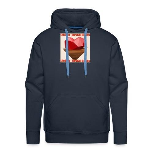 LifeBoat Custom Logo - Men's Premium Hoodie