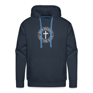 On A Mission For The King (light lettering) - Men's Premium Hoodie