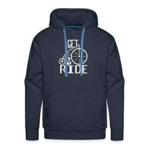 get out and ride - Men's Premium Hoodie