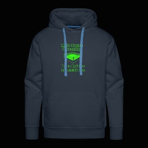 Mid-South Wrestling News Neon/Lime Green - Men's Premium Hoodie