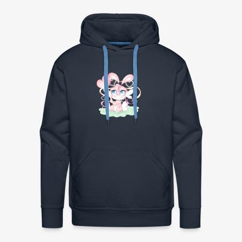 Cute lil bunny - Men's Premium Hoodie